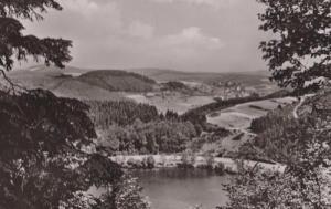 Gemundener Maar Mit Blick Auf Daun Real Photo German Postcard