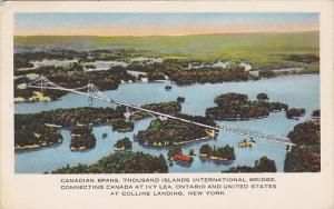 Canada Thousand Islands International Bridge 1955