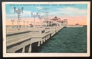 Million Dollar Recreation Pier, St. Petersburg, FL 1931 E.C. Kropp Co. 3158-16