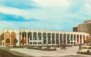 Cincinnati Ohio~Artist Conception~Convention Center~1950s Postcard