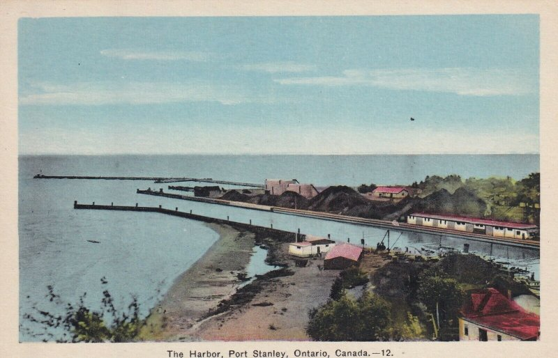 PORT STANLEY, Ontario, Canada, 1900-1910's; The Harbor