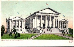 Virginia Richmond The State Capitol 1909 Detroit Publishing