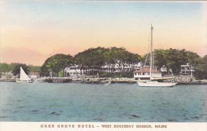 Oake Grove Hotel West Boothbay Harbor Maine Albertype