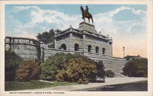 Illinois Chicago Grant Monument Lincoln Park