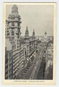 Buenos Aires - Avenida de Mayo, Argentina, 1910-30s