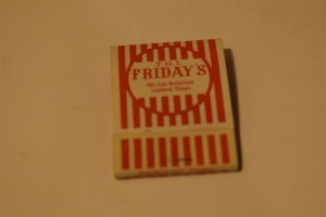 T. G. I. Friday's Lombard Illinois 20 Strike Matchbook