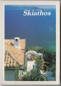 Skiathos, Greece, 1988 used Postcard