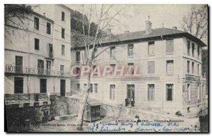 Old Postcard Amelie les Bains Roman Baths