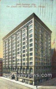 Stock Exchange Bldg - Chicago, Illinois IL
