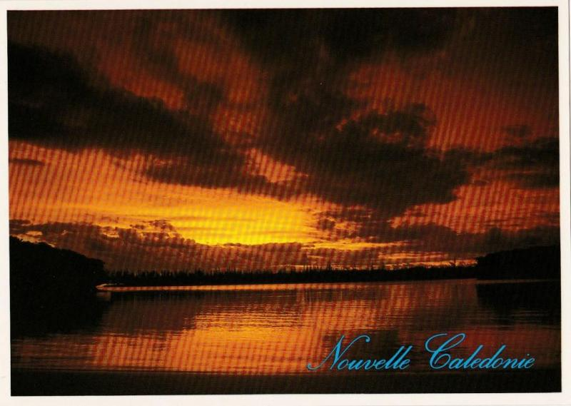 Sunset, New Caledonia - Solaris 389 Unused
