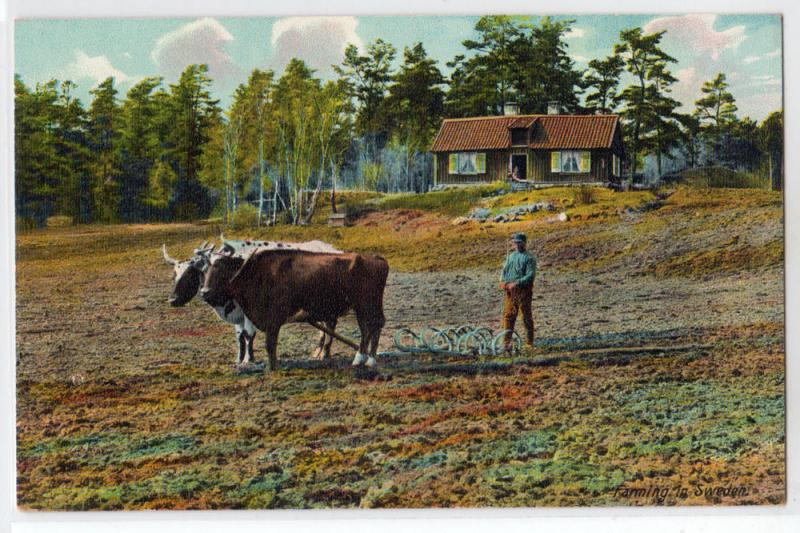 Farming in Sweden