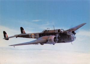 Postcard Handley Page Hampden I AT137 RAF Aircraft After The Battle Series No.7