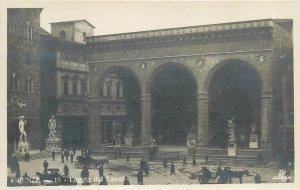 Postcard Italy Firenze Loggia del Lanzi