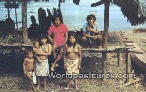 Primitive, Choco Indians of Darien Panama Panama Unused