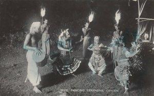 RP: Devil Dancing Ceremony , CEYLON , 30-50s