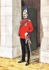 Military Art Postcard Westminster Dragoon 2nd County of London Yeomanry 1909 1-2
