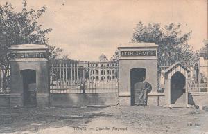 Tunisia Tunis quartier Fergemol early postcard