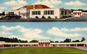 Maryland Mitchellville Rip's Restaurant Cocktail Lounge and Motel Curteich