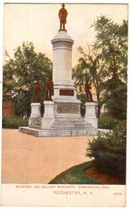 Soldiers & Sailors monument, Washington Park, Rochester NY