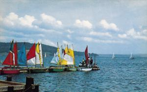 Sail Boating , BADDECK , Cabot Trail , Cape Breton , Nova Scotia , Canada , 5...