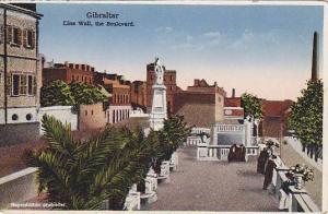 Line Wall, the Boulevard, Gibraltar, 10-20s