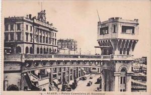 Algeria Alger Palais Consulaire et Ascenseur