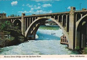 Washington Spokane Monroe Street Bridge Over Spokane River