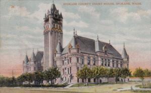 Washington Spokane The Spokane County Court House