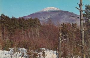 Scenic View Pico Peak Ski Area f rom Route 4 - Mendon VT, Vermont