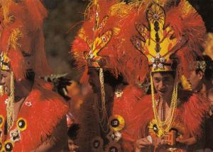 TAHITI, 50-70s; Danseurs du groupe Fetia