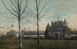 SANDUSKY , Ohio , 1914; Hospital at Ohio Soldiers and Sailors Home