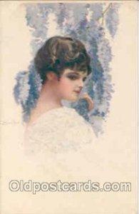 Artist C. Monestier (Italy) Series 254-2 Unused