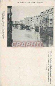 Postcard Old Brook of Adour Castres Kodak