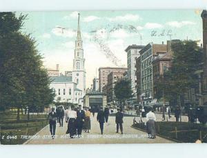 Divided-Back SHOPS ON TREMONT STREET Boston Massachusetts MA hp3009