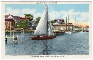 Martha's Vineyard Island, Edgartown Water Front, Edgartown, Mass