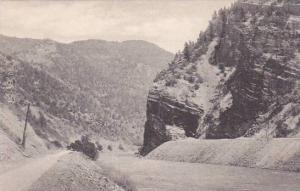 Colorado Glenwood Springs Mouth Of Glenwood Canon Albertype