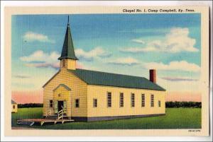 Chapel No 1, Camp Campbell, KY