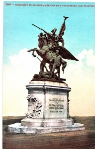 2089- Monument to the Spanish American War Volunteers, San Francisco