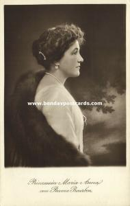 Princess Maria Anna of Bourbon-Parma, Archduchess of Austria (1910s) RPPC