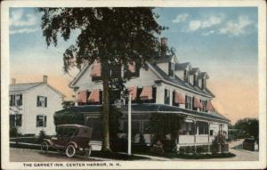 Center Harbor NH Garnet Inn c1920 Postcard