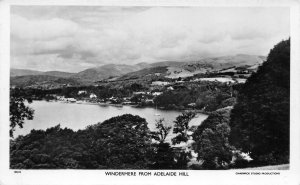 RPPC Windermere From Adelaide Hill, England c1930s Vintage Photo Postcard