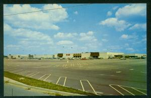 Salisbury Maryland SHOPPING MALL SEARS ROEBUCK STORE  Parking Lot Postcard