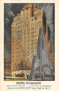 New York City   Hotel Plymouth