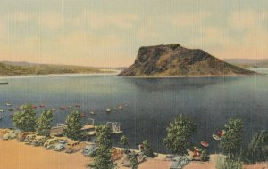 HOT SPRINGS, New Mexico , 1930-40s ; Elephant Butte Lake