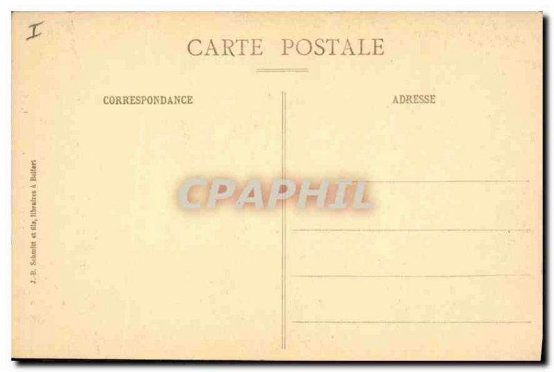 Old Postcard Belfort Gate Brisach