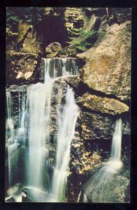 North Woodstock, New Hampshire/NH Postcard, Paradise Falls, Lost River Gorge