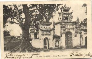 CPA Vietnam Indochine TONKIN Hung-Yen - Pagode (60350)