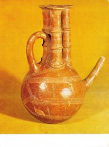 Postcard Red Polished Composite Jug, Early Bronze Age I76