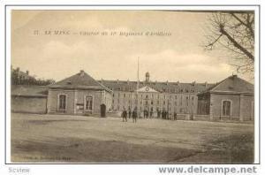 LE MONS, France 00-10s, Caserne du 31 Regiment Artillerie