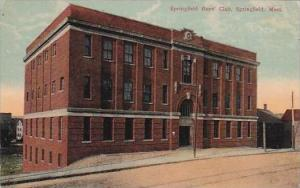 Massachusetts Springfield Springfield Boys Club